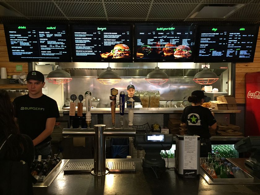 BurgerFi brand takes on Shake Shack