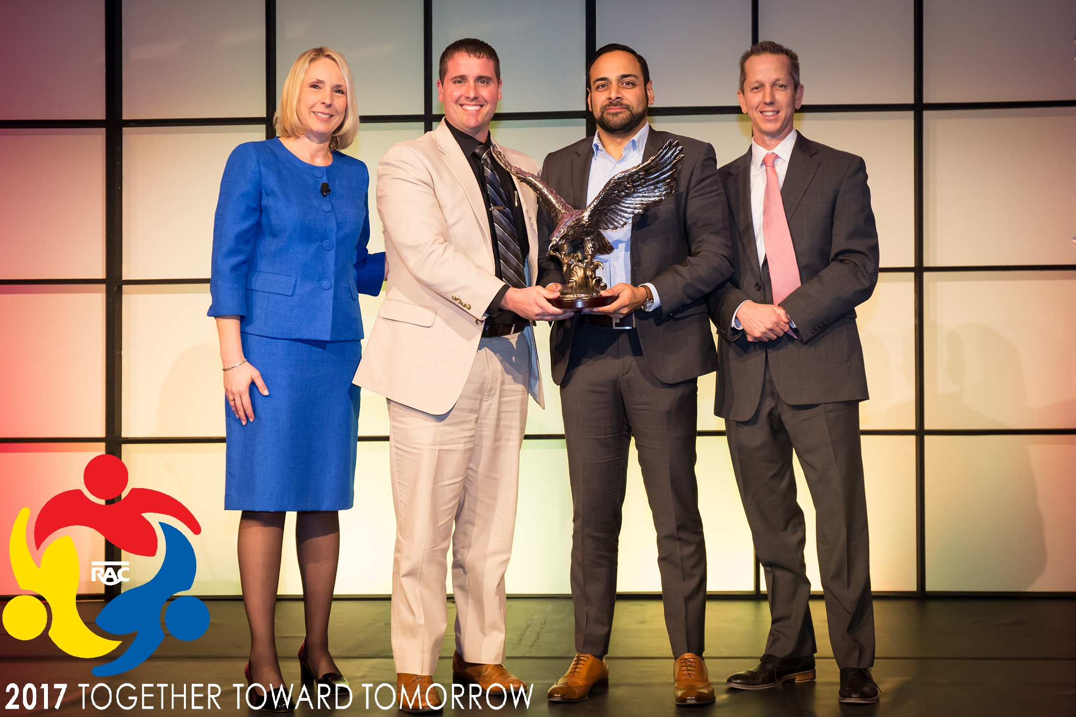 Impact wins coveted Eagle Award for Franchisee of the Year